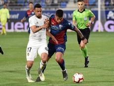 El Valencia arrolló al Huesca. EFE