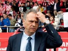 Caparrós señaló que el Sevilla está creciendo por la exigencia. EFE