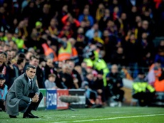 Valverde fala sobre a eliminação na Champions. EFE