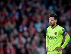 Leo Messi sarà presente in conferenza stampa. EFE