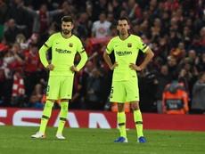 Piqué relata en 'El País' la pesadilla de Anfield. EFE