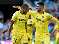 Ekambi espera seguir sumando partidos con la camiseta del Villarreal. EFE