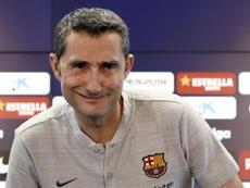 Valverde não descarta Griezmann. EFE