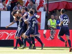 El Valladolid sufrió, pero ganó en Vallecas. EFE