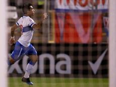 Edson Puch estará ante la 'U' de Chile. EFE/Archivo