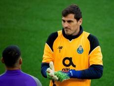 Sergio Conceiçao reconoció el sufrimiento de Casillas. EFE/Archivo