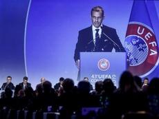 La UEFA ha aplazado la elección para la sede de la final de 2021. EFE