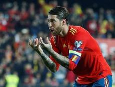 Ramos guiñó el ojo a los Juegos Olímpicos. EFE