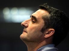 Valverde analizó el duelo ante el Nápoles. EFE
