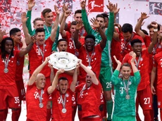 El Bayern fue el último en conseguir el título. EFE