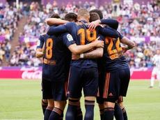 El Valencia disputará su Champions número 12. EFE