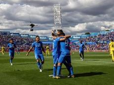 El Getafe se conformó con la Europa League tras su 2-2 ante el Villarreal. EFE