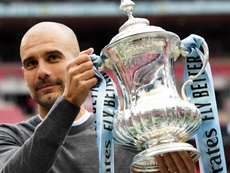 The challenge of winning the Champions League with City motivates Pep. EFE/EPA