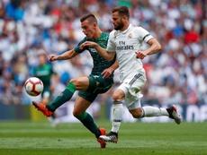 El Madrid recibe la visita del Cádiz en Liga. EFE
