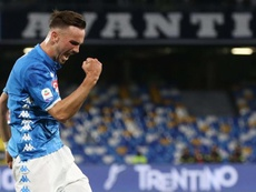 Fabian Ruiz could join Madrid in the summer. EFE