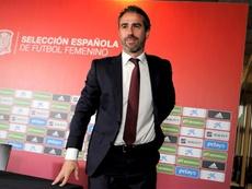 Jorge Vilda, con ganas de comenzar el Mundial. EFE