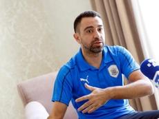 Xavi Hernandez wants more coaching experience before returning to Barça. EFE