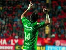 Rubens Sambueza sueña con poder defender la camiseta del 'Tri'. EFE/Archivo