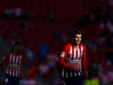 Morata wants to stay at Atleti. EFE