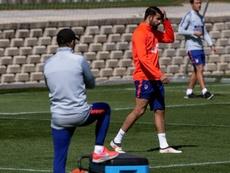 Diego Costa quitte la saison en se tordant la cheville. EFE