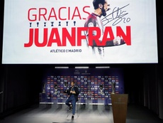 Juanfran dejó entrever su próximo destino. EFE