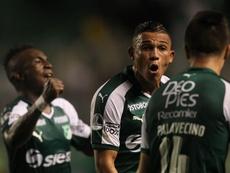Deportivo Cali se enfrenta a Independiente Santa Fe. EFE