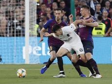 Défendre un titre comme la Coupe du Roi sera un défi pour Soler. EFE