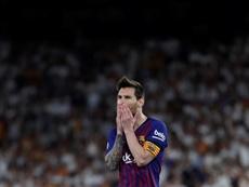 El Barça cayó hace dos años en el Villamarín ante el Valencia. EFE