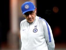 Sarri aludió motivos personales para volver a Italia. EFE