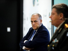 Tebas doesn't thing La Liga has been affected by Ronaldo's departure. EFE