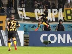 Peñarol se impuso con gol de Viatri. EFE/Archivo