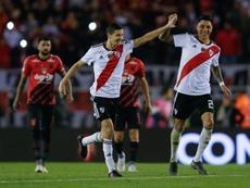 D'Onofrio habló del mercado de River Plate. EFE