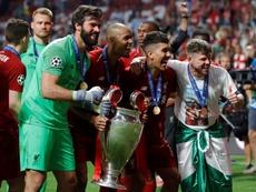 O Liverpool, atual campeão, pode ser eliminado sem chegar às oitavas. EFE