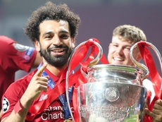 Salah seguirá en el Liverpool y exigirá una mejora contractual. EFE