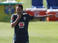 Butragueño evitó hablar de Neymar. EFE