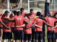 Preocupación en Costa Rica por el amistoso en México. EFE/Archivo
