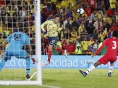 El Atlético da un paso más por James. EFE