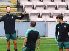 João Féliz conta com boas expectativas de Cristiano Ronaldo. EFE