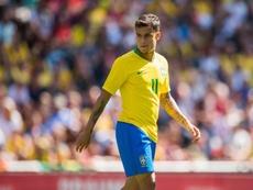 Coutinho, o líder do Brasil para a Copa América. EFE/Arquivo
