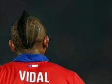 Arturo Vidal reçoit l'intérêt du footbal chinois. EFE