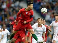 Cristiano Ronaldo has broken many records as a Portugal player. EFE