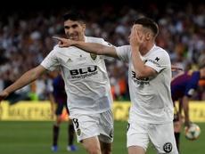 El Valencia jugará ante el Sion el 23 de julio. EFE/Archivo