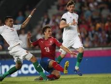 La UEFA castigó el comportamiento racista de Bulgaria. EFE