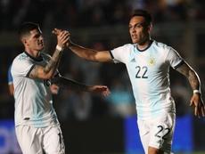 Carlos Pablo annonce Lautaro Martinez au Barça. AFP