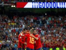 La Spagna supera la Svezia. EFE