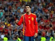 L'attaquant espagnol aurait mis sa maison en vente. EFE