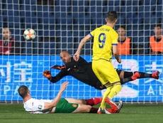 Kosovo dio la sorpresa y ganó a Bulgaria a domicilio. EFE
