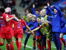 Estados Unidos conquistó el Mundial de Francia. EFE