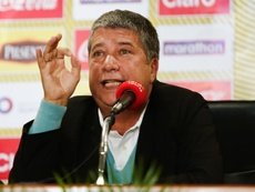 'Bolillo' Gómez reiteró el estilo de la Selección Ecuatoriana. EFE/Archivo