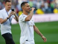 Hazard mandó un mensaje a Zidane. EFE